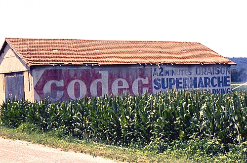 Codec supermarché
